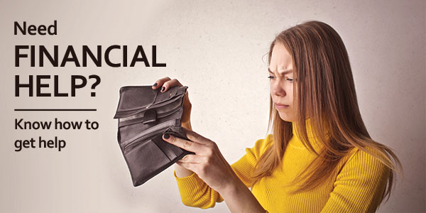 When and how to seek financial help from someone to repay debt