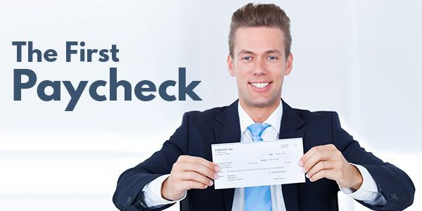 How to spend your first paycheck efficiently