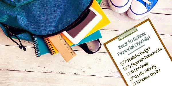 Back-to-school financial checklist: What you need to do