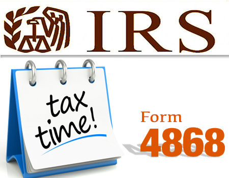 IRS eases taxpayer's pains: File delayed tax return with Form 4868