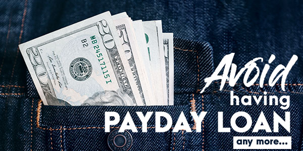 The onus is on you - Solve payday loan problems to become debt free