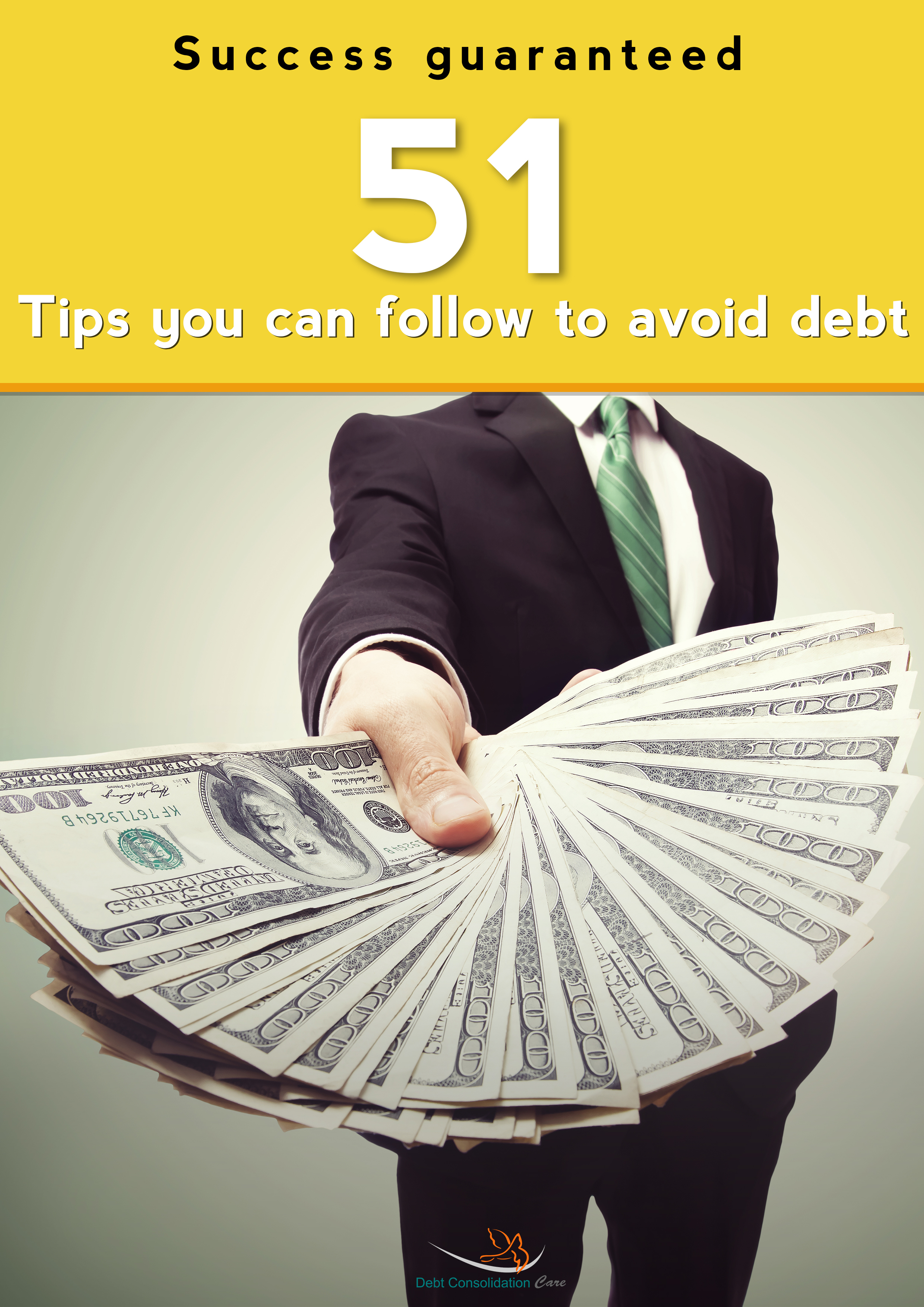banner image Avoid debt to manage your finances efficiently