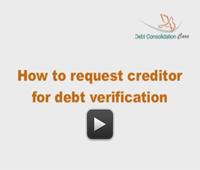 No Response To Debt Verificaion Letter