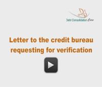 Validation Letter For Credit Bureaus
